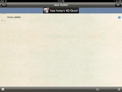 iPad eBook App Review
