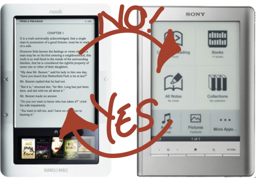 Sony nook epub compatibility