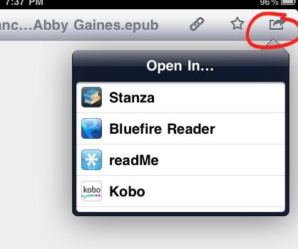 iPad Dropbox