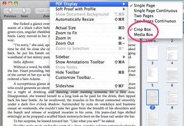 non destructive PDF