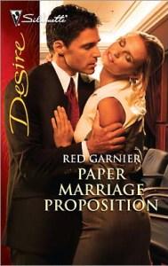 red garnier paper marriage proposition