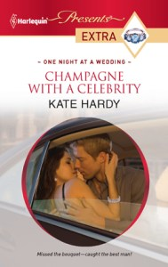 Champagne with a Celebrity by Kate Hardy
