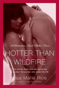 Hotter than Wildfire by Lisa Marie Rice