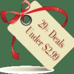 29 Deals Under 2.99