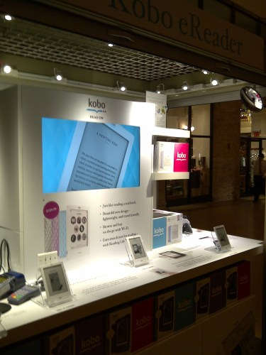 Kobo Kiosk counter shot