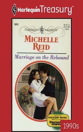 GUEST REVIEW: Harlequin Treasury Marriage on the Rebound by