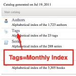 Tags Monthly Index Coming Soon