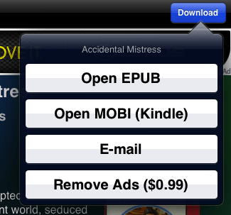 eBook Search Download options
