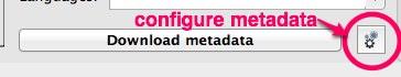 configure metadata calibre