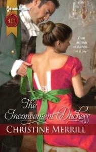 The Inconvenient Duchess By: Christine Merrill