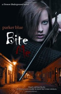 Parker Blue Bite Me