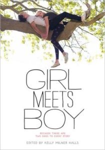 Girl Meets Boy: Because There Are Two Sides to Every Story  by     Kelly Milner Halls