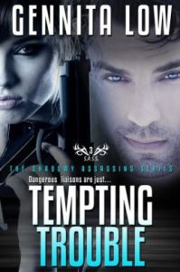TEMPTING TROUBLE (Secret Assassins (S.A.S.S.)) by Gennita Low