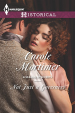 Not Just a Governess by Carole Mortimer