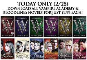 Vampire Academy and Bloodlines series
