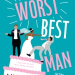 Illustrated cover with a dark-skinned bride on top of a wedding cake pushing a dark-haired white man off the top of the cake. A lighter-haired white man is on the top of the cake with the bride. He's shrugging.