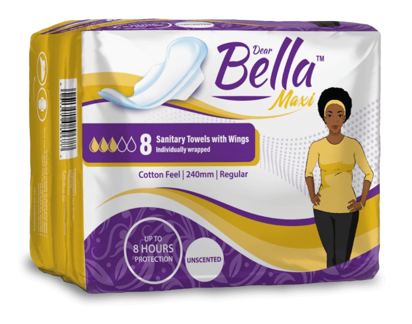 You can now buy sanitary pads for girls who need them