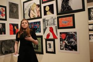 Senior Artist Claire Young (Edsel Ford) discusses the inspirations and thoughts behind her impressive artwork.