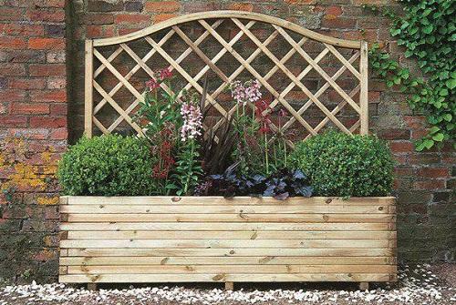 Trellis Planter Homebase