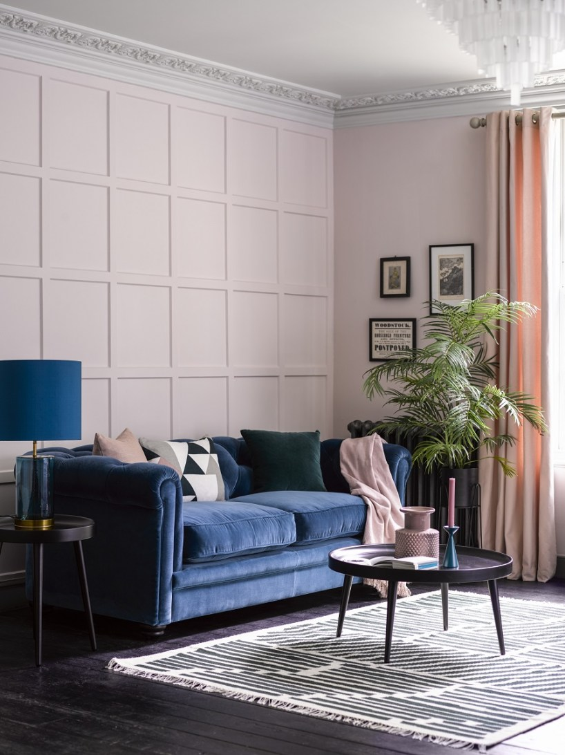 Sofá Classic Blue para el salón