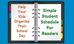 Simple Student Schedule