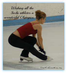 Best wishes for all the Sochi athletes DearKidLoveMom.com