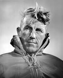 Sir Edmund Hillary reaches the top of Mount Everest May 29, 1953