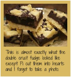 Double crust fudge. Delicous! DearKidLoveMom.com