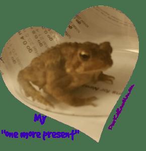 Birthday Toad. DearKidLoveMom.com
