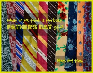 What is your idea of the best Father's Day gift? DearKidLoveMom.com