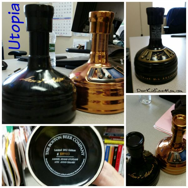 Samuel Adams brews Utopias, a limited edition beer. DearKidLoveMom.com