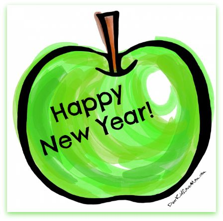 Happy New Year! May it be a Sweet and Healthy Year. DearKidLoveMom.com
