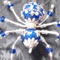 Santa Spider. Comes with a great story. DearKidLoveMom.com