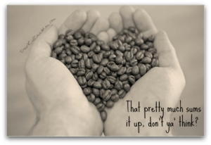 That about sums it up, doesn't it? What I learned about Bulletproof coffee. DearKidLoveMom.