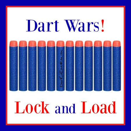 Dart Wars is a Big Freakin' Deal here. I know this because teenagers are actually using their cell phones to have conversations. Talking conversations, not just texting. DearKidLoveMom.com