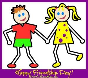 5 Budget Friendly Ways to Celebrate Friendship Day! DearKidLoveMom.com