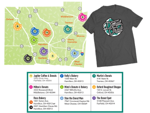 Butler County's Donut Trail (No Hiking Boots Necessary) DearKidLoveMom.com