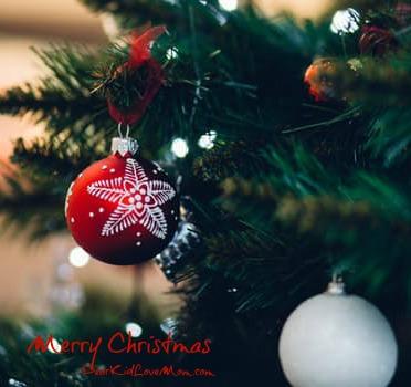 To those celebrating, Merry Christmas! DearKidLoveMom.com