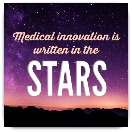 Medical innovation is written in the stars. dearKidLoveMom.com