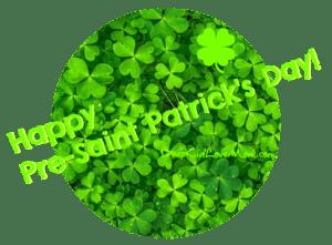 Happy Pre St Patrick's Day! DearKidLoveMom.com