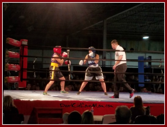 IU Sorority and Fraternity boxing fundraiser. DearKidLoveMom.com