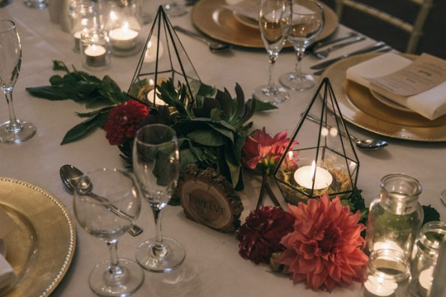 Whimsical-Garden-Wedding-Reception-Styling-Centrepiece-Geometric-Terrariums