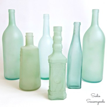 5_clear_glass_bottles_to_repurpose_into_sea_glass_for_summer_coastal_centerpiece_decor_Sadie_Seasongoods