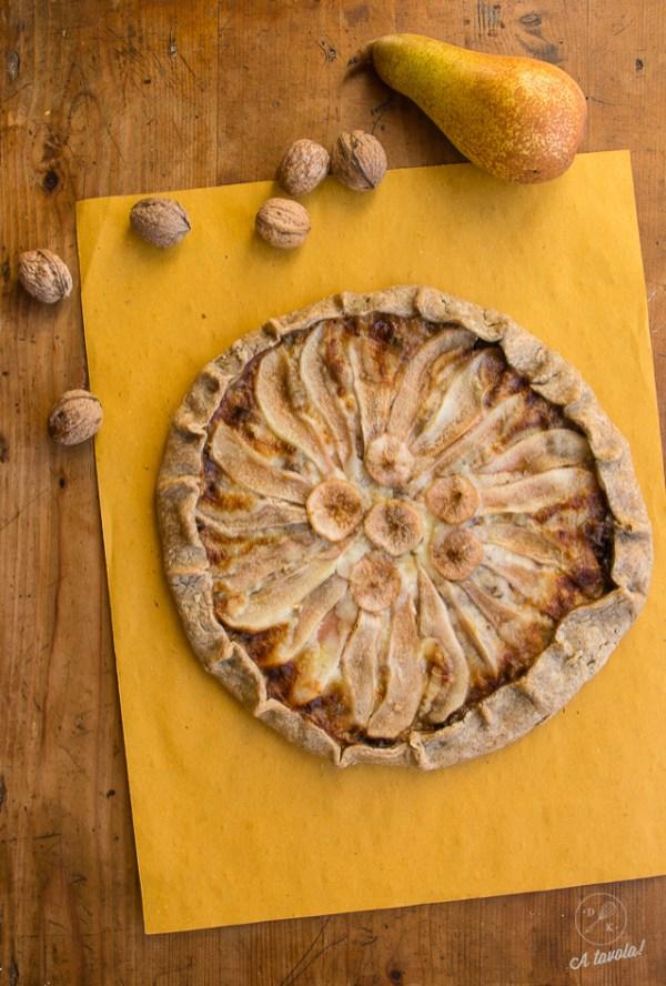 galette pere noci e gorgonzol1