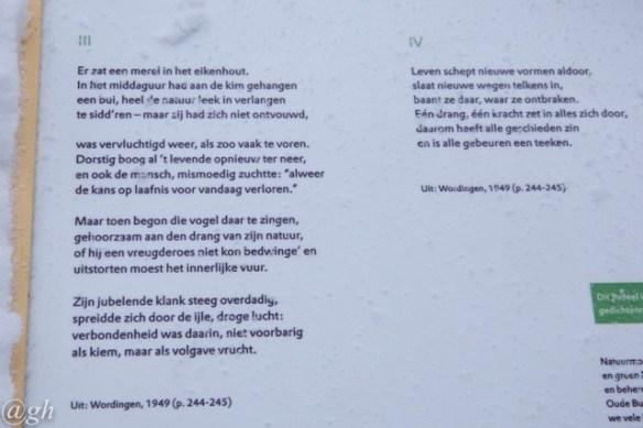 Poetry Snow Blackbird Of Oude Buisse Heide Dear Kitty Some Blog