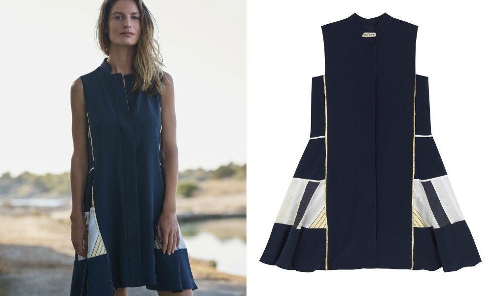 74e5737f0910 Το φόρεμα ανήκει στην ελληνική εταιρία www.zeusndione.com και κοστίζει 660  ευρώ. Για να το δεις καλύτερα και να μάθεις περισσότερες λεπτομέρειες δες  το εδώ.