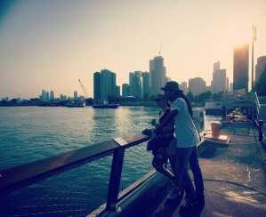 Navy Pier Skyline View In Chicago