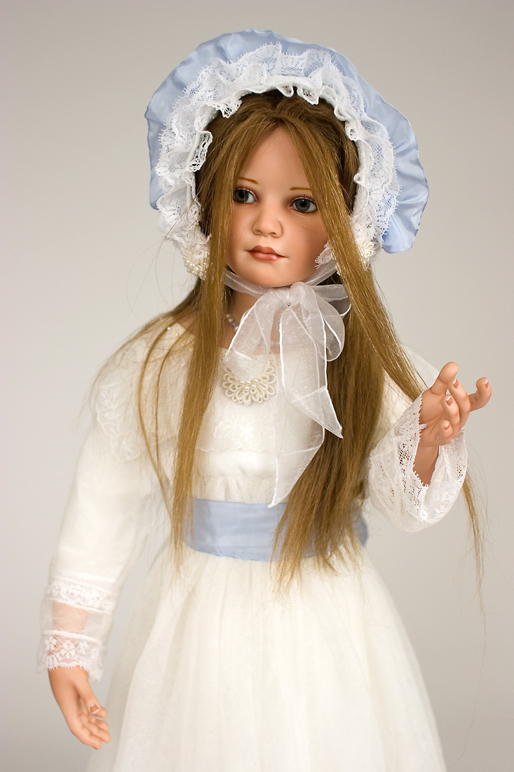Priscilla Porcelain Soft Body Artists Proof Art Doll By
