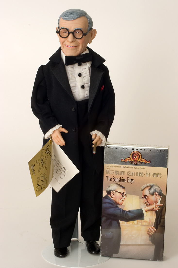 George Burns W Tape Vinyl Limited Edition Collectible Doll By Effanbee