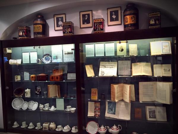 Twinings History in Display